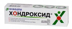 Хондроксид - хондропротектор при остеохондрозе