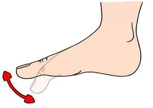 Упражнения при артрите пальца ноги