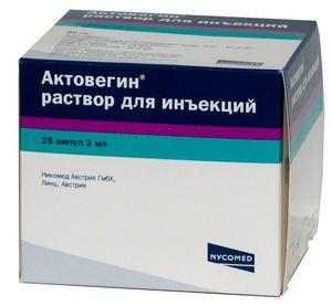 Актовегин для лечения остеохондроза