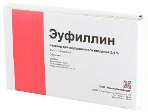 Описание препарата Эуфиллин