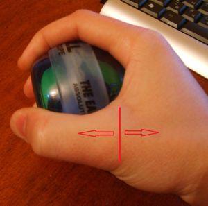разработка пальца