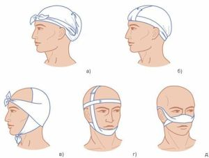 косыночная повязка для головы