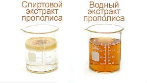 настойки на спирту и воде