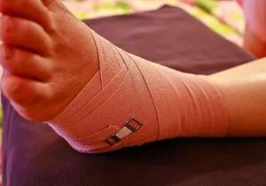 бондаж ноги