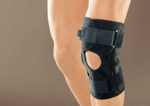 бондаж колена
