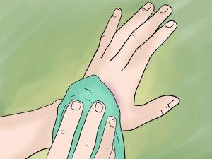 компресс на руку