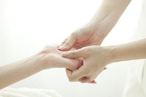 Массаж руки