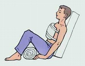 фиксация грудной клетки