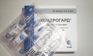 Фармакокинетика препарата хондрогард
