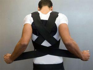 корсет на спине