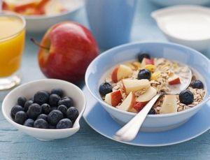 овсянка с фруктами