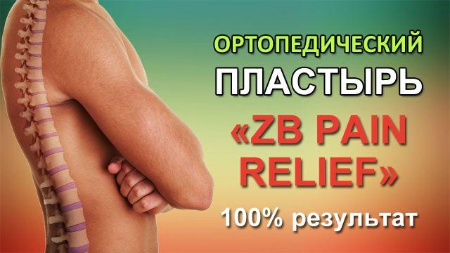 пластырь Zb pain relief
