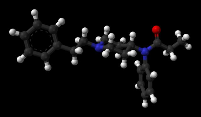 Молекулярная формула Фентанила