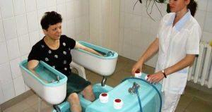 бальнеотерапия при болезнях суставов