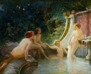 Лечебное купание в Римской Империи