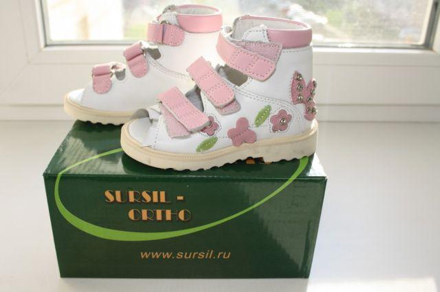 детские сандали лечебные