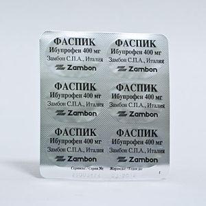Таблетки Фаспик