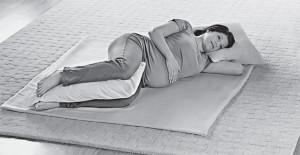 Удобная поза при беременности