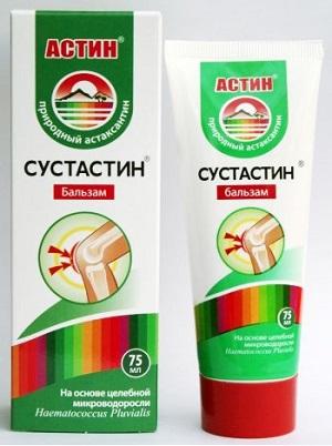 бальзам для суставов астин