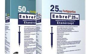 Подробная инструкция по применению к препарату Энбрел
