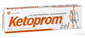 Кетопром - гель