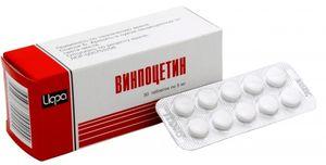 Винпоцетин при шейном остеохондрозе