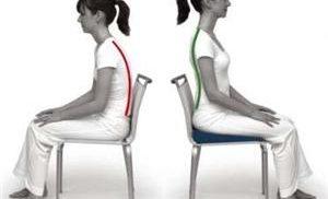 подушка для сидения с ортопедическим эффектом