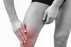 воспаленный сустав колена