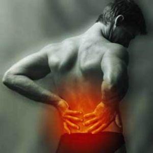 горит спина от боли