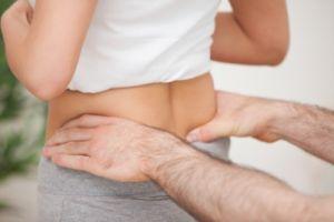 массаж поясничной области