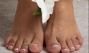 как наносить гель на ноги