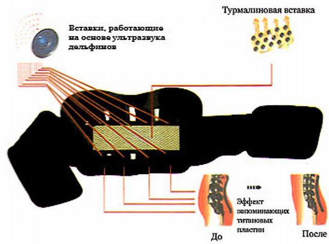 механизм действия пояса