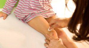 массаж колена