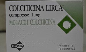 Лекарство от подагры Колхицин