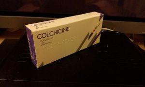 Колхицин при подагре