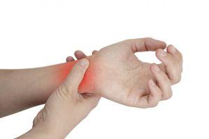 растяжение связок на руке