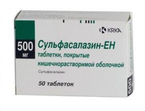 Лекарство сульфасалазин