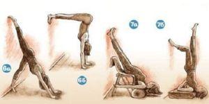 упражнения йоги при сколиозе шеи