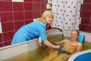 ванна с бишофитом