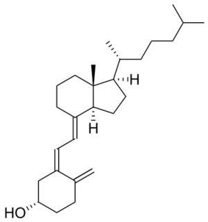 Колекальциферол формула