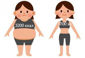 контроль лишнего веса