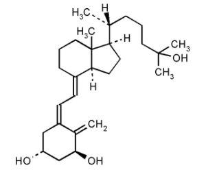 Кальцитриол формула