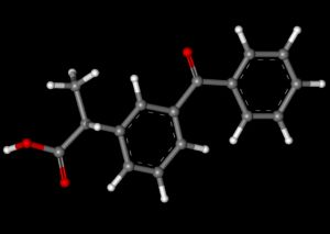 Формула кетопрофена