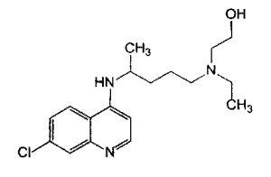 Формула гидроксихлорин-сульфат