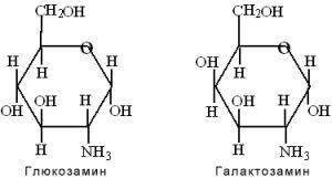 Формула глюкозамина