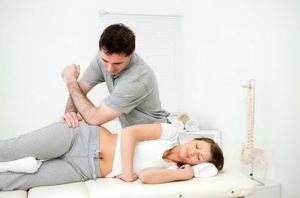 массаж тазовой области