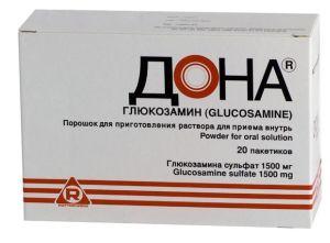 Лекарства для суставов хондропротекторы