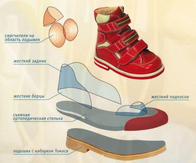 Строение обуви Сурсил Орто
