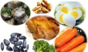 Полезный продукты с витамином B6