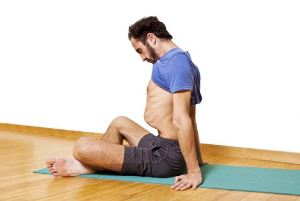 йога мужчина
